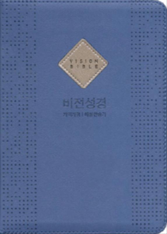 비전성경(슬림)NKR개역개정/해설새찬송-블루