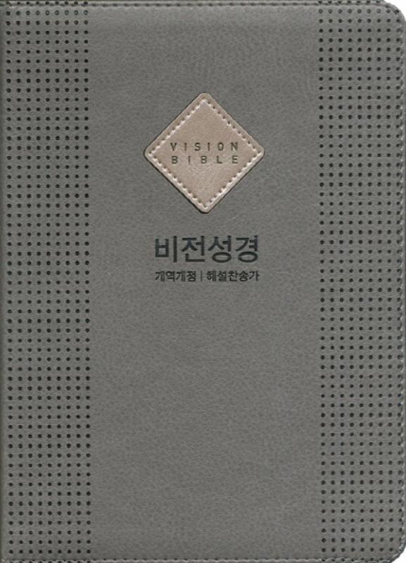 비전성경(슬림)NKR개역개정/해설새찬송-그레이