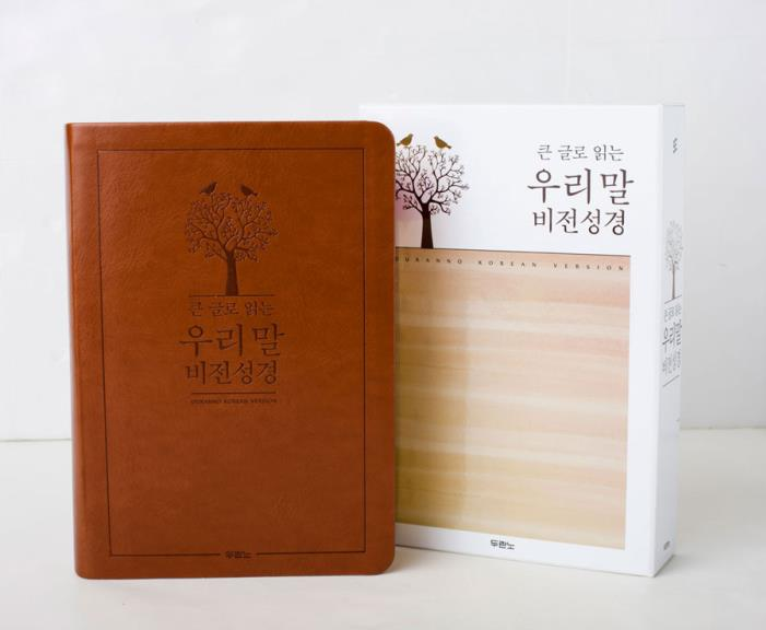 큰글우리말비전성경(중/단본/색인)-진갈색