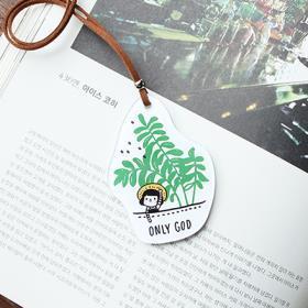 섬김과나눔6800-그레이스벨차량용걸이(06초록잎-화이트)