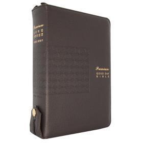 개역개정프리미엄굿데이성경(대/합색/돈피)-다크브라운