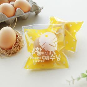 히스엠2000-부활절달걀1구포장비닐(25매)_부활하신예수님(병아리