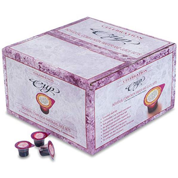 개인성찬키트-(PACK OF 500) PREFILLED COMMUNION CUPS