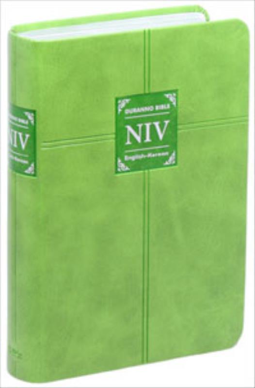 두란노개정NIV영한성경(소)단본색인-그린